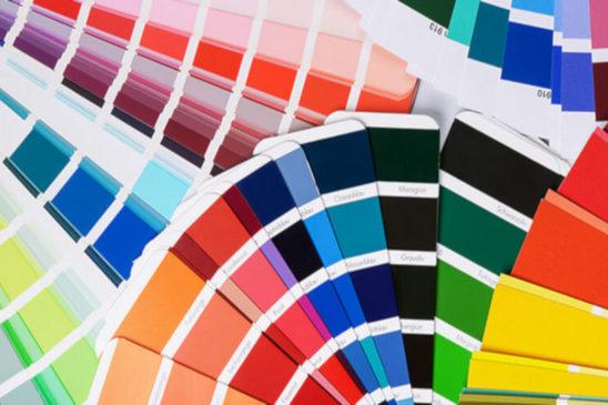 палитра цветов тканевых потолоков